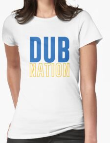 DUB NATION  Womens Fitted T-Shirt