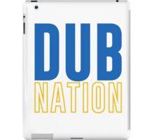 DUB NATION  iPad Case/Skin