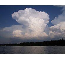 crazy cloud Photographic Print