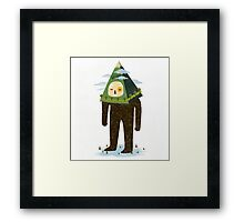 The Man Mountain Framed Print
