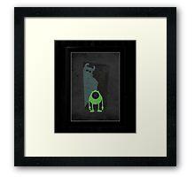 Monsters inc Framed Print