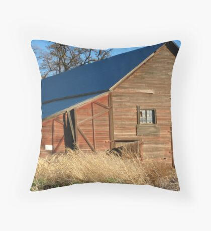 That Old Barn Throw Pillow