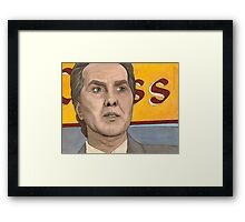 Graduation Day, Part Two - The Mayor - BtVS Framed Print