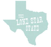 Texas State Motto Slogan by surgedesigns