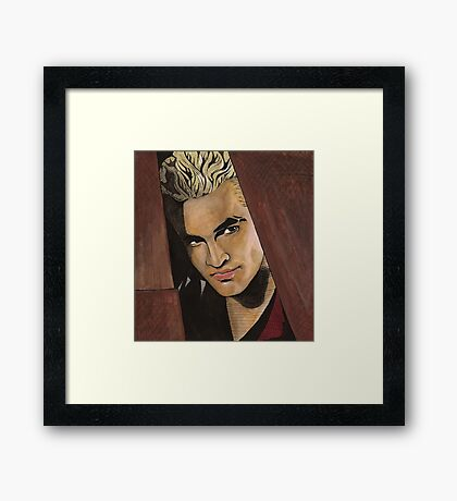 Lovers Walk - Spike - BtVS Framed Print