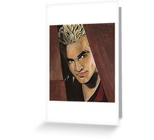 Lovers Walk - Spike - BtVS Greeting Card