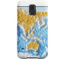 World Map - Recycled Samsung Galaxy Case/Skin