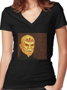 Anne - Ken - BtVS Women's Fitted V-Neck T-Shirt