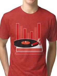 Love Vinyl Tri-blend T-Shirt