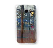Market Street Corner Lights Samsung Galaxy Case/Skin