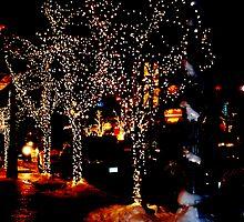 aspen night lights by Georgia Bayliff