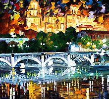Spain, Salamanca — Buy Now Link - www.etsy.com/listing/209940402 by Leonid  Afremov
