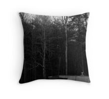 House by the Woods Throw Pillow