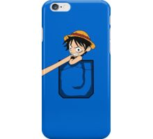 Luffy Pocket iPhone Case/Skin