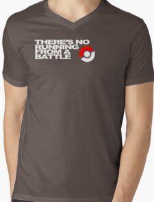 No Running Form A Battle Mens V-Neck T-Shirt