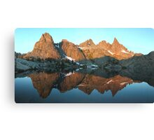 Minaret Lake Canvas Print