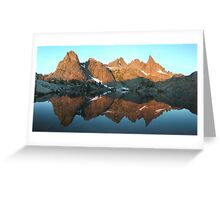 Minaret Lake Greeting Card
