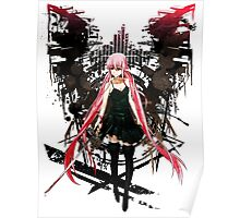 Gasai Yuno Future Desolation Anime T-shirt Poster