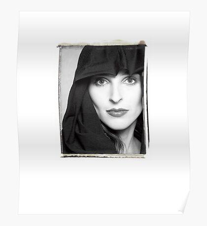 Kat as the Madonna Poster