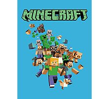 Minecraft love Photographic Print