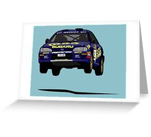 Fortitude's  'Colin McRae 555' Subaru Impreza Tribute Greeting Card