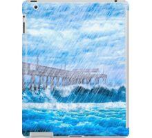 Storm Over The Sea - Tybee Island iPad Case/Skin