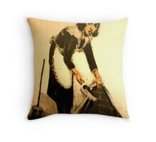 The Maid Throw Pillow