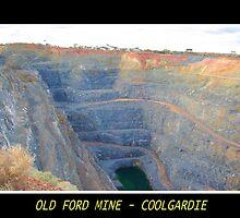 Old Ford Mine - Coolgardie by Daniel Fitzgerald