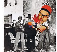 Ali G,s Paintgun by atomikboy