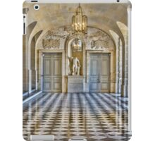 Lower Stone Gallery, Versailles Palace, France iPad Case/Skin