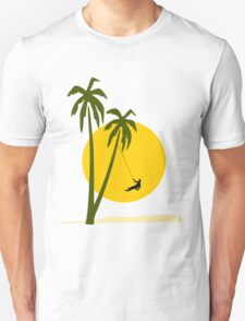 Abseiling in the sun T-Shirt