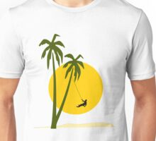 Abseiling in the sun Unisex T-Shirt