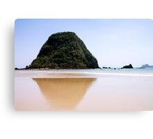Palau Merah (Red Island) in Java, Indonesia Canvas Print