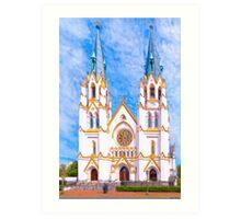 Cathedral of St John The Baptist - Savannah Georgia Art Print