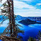 Crater Lake #101 by Richard Bozarth