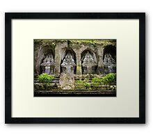 Gunung Kawi Temple Complex, Bali Framed Print