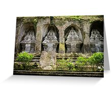 Gunung Kawi Temple Complex, Bali Greeting Card