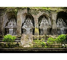 Gunung Kawi Temple Complex, Bali Photographic Print