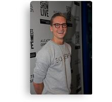 Oliver Proudlock at the Clothes show live in Birmingham Canvas Print