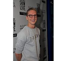 Oliver Proudlock at the Clothes show live in Birmingham Photographic Print