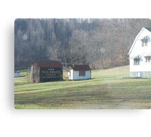 Rural Advertising Metal Print