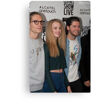 Celebrities at the Clothes Show Live 2014 in Birmingham Canvas Print