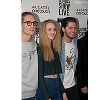 Celebrities at the Clothes Show Live 2014 in Birmingham Photographic Print