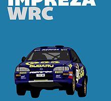 Fortitude's  'Colin McRae 555' Subaru Impreza Tribute Poster by twainf