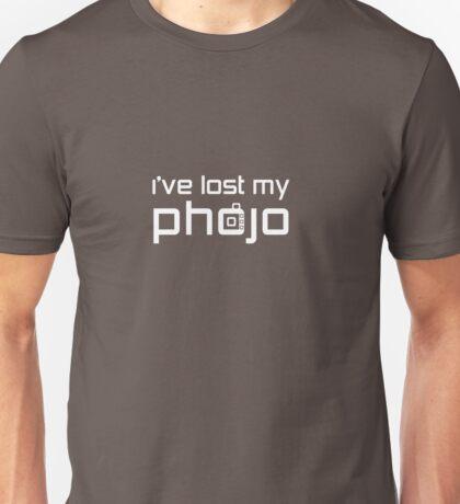 I've Lost My Phojo Unisex T-Shirt