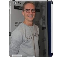 Oliver Proudlock at the Clothes show live in Birmingham iPad Case/Skin