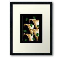 Outside The Vase  Framed Print