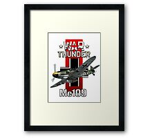 War Thunder Me109  Framed Print