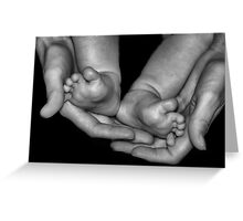 A Mother's Touch Greeting Card