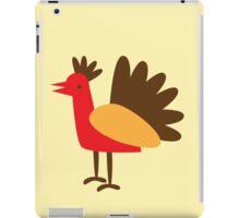 turkey bird so simple iPad Case/Skin